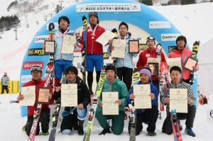 全日本選手権 SL表彰式